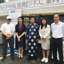 Hai doanh nghiệp lớn Việt Nam tham dự lễ hội Việt Nam 2017 tại Nhật Bản