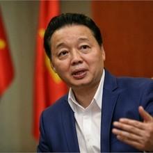 Ông Trần Hồng Hà - Bộ trưởng Bộ Tài nguyên và môi trường