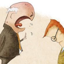 4 điều quan trọng cần nhớ khi ra trường mới đi làm bị sếp mắng té tát