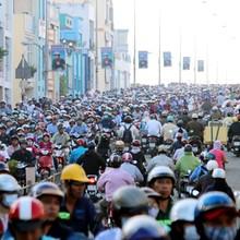 """Hàng loạt dự án nghìn tỷ """"giải cứu"""" ùn tắc khu Nam Sài Gòn"""