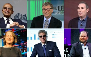 10 nhân vật quyền lực nhất làng công nghệ năm 2017