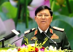 Đại tướng Ngô Xuân Lịch  - Chủ nhiệm Tổng cục Chính trị (Bộ Quốc phòng)