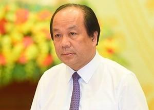 Ông Mai Tiến Dũng  - Người phát ngôn Chính phủ, Bộ trưởng, Chủ nhiệm Văn phòng Chính phủ