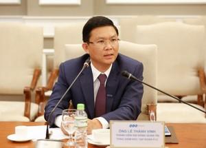 Ông Lê Thành Vinh - Tổng giám đốc Tập đoàn FLC