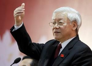 Ông Nguyễn Phú Trọng - Tổng Bí thư Ban Chấp hành Trung ương Đảng Cộng sản Việt Nam