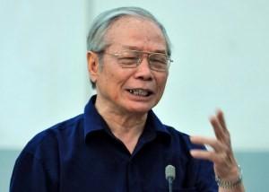 Ông Võ Đại Lược - Nguyên Viện trưởng Viện Kinh tế và Chính trị thế giới