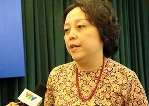Bà Phạm Khánh Phong Lan - Trưởng Ban quản lý an toàn thực phẩm TP.HCM