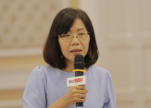 Bà Nguyễn Thị Tuệ Anh - Phó Viện trưởng Viện Quản lý Kinh tế Trung ương