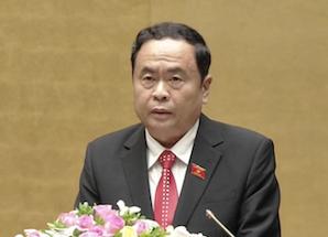 Ông Trần Thanh Mẫn - Chủ tịch Ủy ban Trung ương Mặt trận Tổ quốc Việt Nam