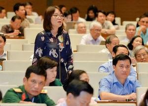 Bà Phạm Thị Minh Hiền  - Đại biểu Quốc hội đoàn Phú Yên.