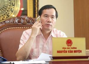Ông Nguyễn Văn Huyện - Tổng cục trưởng Tổng cục Đường bộ