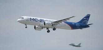 Nga lần đầu bay thử máy bay thương mại MS-21 tầm gần và tầm trung
