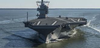 Tổng thống Trump đưa vào sử dụng tàu chiến tối tân gần 13 tỷ USD