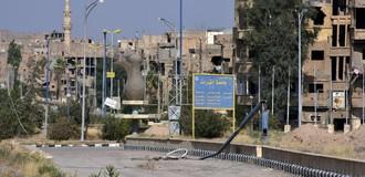 Quân đội Syria vượt sông Euphrate tấn công IS