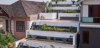 """Nhà """"ruộng bậc thang"""" Việt Nam ấn tượng trên báo nước ngoài"""