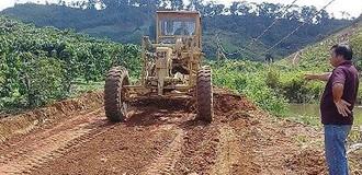 Lâm Đồng: Hơn 3 năm chưa thi công xong đường, dân rút tiền tự làm