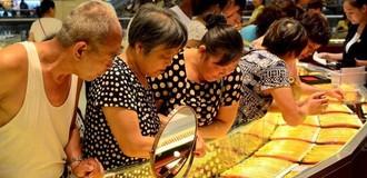 Nhu cầu vàng của Trung Quốc tăng vọt