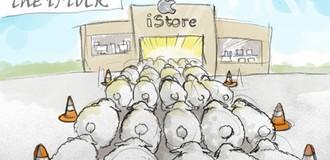 """Người yêu Apple được ví là """"cừu ngoan"""""""
