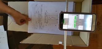 Chấm thi bằng… smartphone