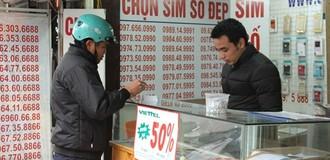 Đại lý bán SIM rác sẽ bị phạt tiền đến 40 triệu đồng