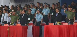 Xuất quân, diễn tập phương án bảo vệ Tuần lễ Cấp cao APEC 2017