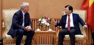 Nhà đầu tư ngoại muốn làm đường sắt đô thị nối sân bay Nội Bài với Hồ Tây