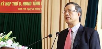 Cách chức nguyên Bí thư tỉnh Vĩnh Phúc với ông Phạm Văn Vọng