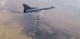 Các máy bay ném bom Tu-22M3 của Nga không kích phiến quân ở Al-Bukemal