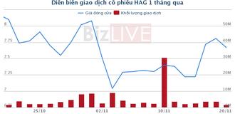 Bầu Đức đã bán thỏa thuận thành công 23 triệu cổ phiếu HAG