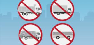 [Infographic] Đà Nẵng cấm nhiều loại ôtô dịp APEC