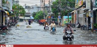 Hà Nội dự báo mưa lớn vào chiều tối, đề phòng ngập lụt