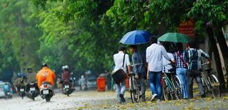 Đông Bắc Bộ mát mẻ chuẩn bị mưa lớn do ảnh hưởng của bão Hato