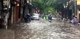 Nam Bộ mưa dông, đề phòng ngập úng