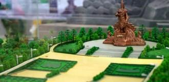 Hơn 1 tỷ đồng lập dự án quy hoạch tượng đài Hùng Vương và danh nhân anh hùng dân tộc