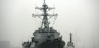Tàu chiến Mỹ lần đầu tuần tra tại Biển Đông dưới thời Tổng thống Trump
