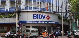 BIDV: Lãi ròng quý II/2017 giảm hơn 11%, vẫn chưa có kế hoạch tăng vốn