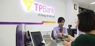 TPBank: Tín dụng tăng đột biến, lợi nhuận đạt 483 tỷ đồng