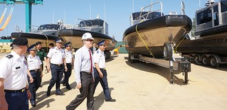 Mỹ chuyển giao 6 tàu tuần tra cho Cảnh sát biển Việt Nam
