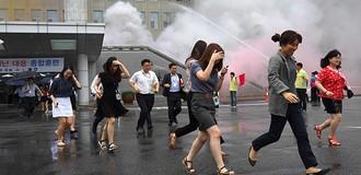 Người Hàn Quốc thờ ơ với các cuộc diễn tập chống chiến tranh với Triều Tiên