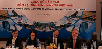 WB Raises Vietnam's 2017 GDP Growth Forecast to 6.7%