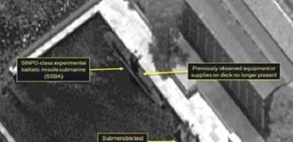 Triều Tiên có thể sắp phóng tên lửa đạn đạo từ tàu ngầm