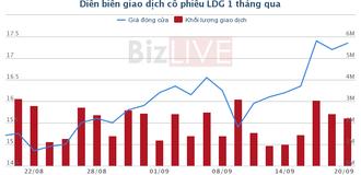 LDG: 5 nhà đầu tư mua toàn bộ 53 triệu cổ phiếu phát hành riêng lẻ