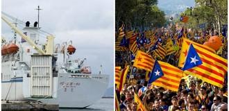 Thế giới 24h: Tây Ban Nha bắt hai thủ lĩnh ủng hộ ly khai, Nga mở lại tuyến phà chở hàng đến Triều Tiên
