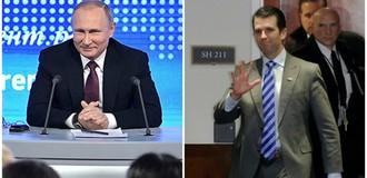 """Thế giới 24h: Ông Putin tổ chức """"họp báo marathon"""", Donald Trump Jr. điều trần 9 tiếng trước Thượng viện Mỹ"""
