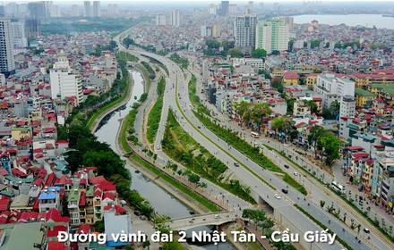 6 tuyến đường đắt nhất Thủ đô