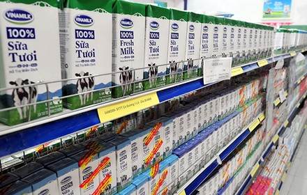 Vietnam Gov't Expects to Fetch $300 Million from Extra Share Sale in Vinamilk