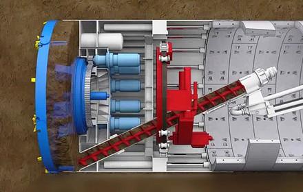 Robot đào đường hầm tuyến metro số 1 như thế nào?