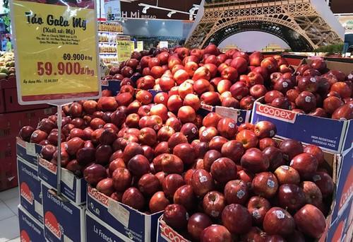 Táo Pháp, Mỹ giá 40.000 - 60.000 đồng/kg, có phải do thuế nhập khẩu giảm?