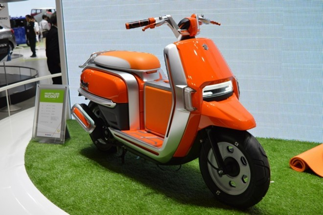 6 xe máy ý tưởng ấn tượng nhất tại Tokyo Motor Show 2015