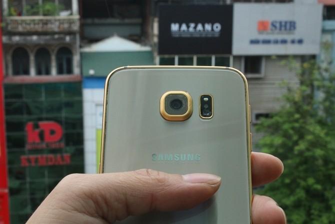 Galaxy S6 mạ vàng